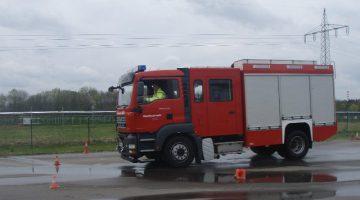 Sicherheitstraining Feuerwehr